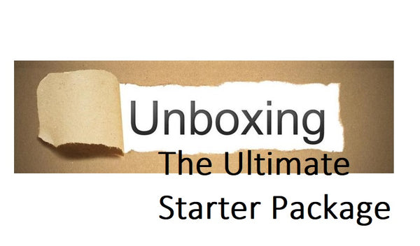 Unboxing The Ultimate Starter Package