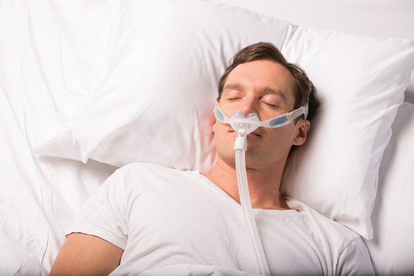 Tips for falling asleep while wearing a CPAP mask