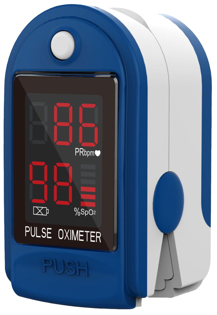 Finger Pulse Oximeter & Heart Rate Monitor - www.CPAPmachines.ca