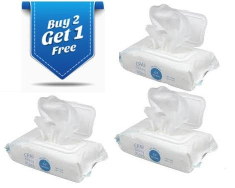 CPAP Cleansing Wipes - www.CPAPmachines.ca
