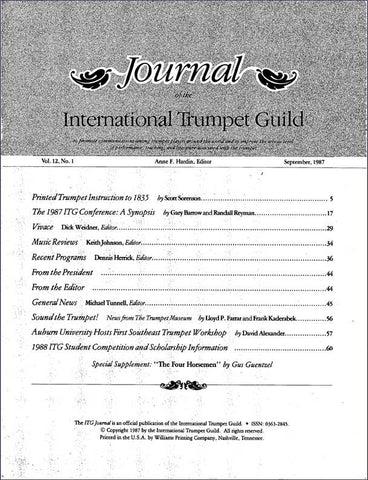 1987 September Complete ITG Journal