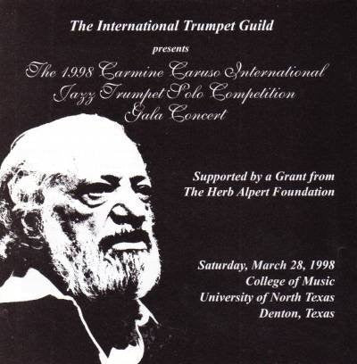 The 1998 Carmine Caruso Int. Jazz Trp. Solo Comp. Concert
