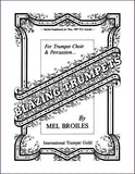 Broiles, Mel: Blazing Trumpets, 12 trumpets and percussion