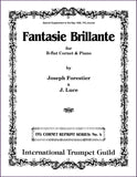 Forestier, Joseph: Fantasie Brillante for cornet and piano