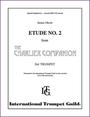 Olcott, James: The Charlier Companion, Etude No. 2