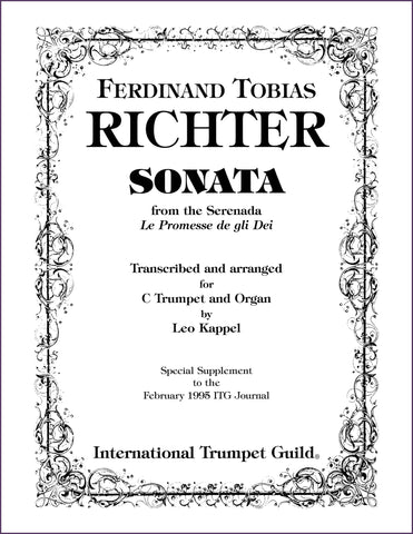 Richter, F. T.: Sonata for trumpet and organ