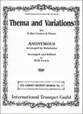 Anonymous: Thema and Variations arr. Kehrhahn