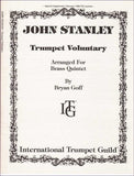 Stanley, John: Trumpet Voluntary, arr.  for brass quintet