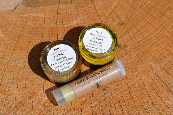 Mira's Naturals Ultimate Lip Care Set