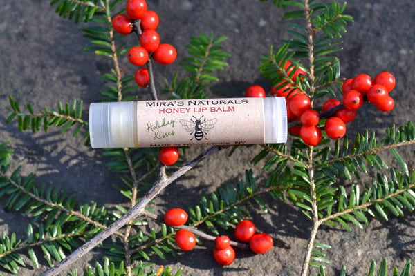 Limited Edition Holiday Kisses All-Natural Lip Balm