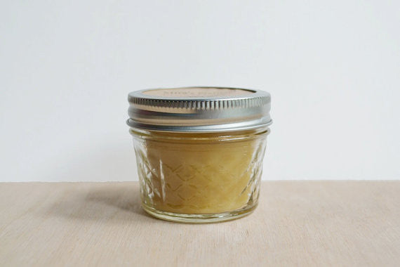 Mira's Naturals 100% Beeswax Jelly Jar Candle