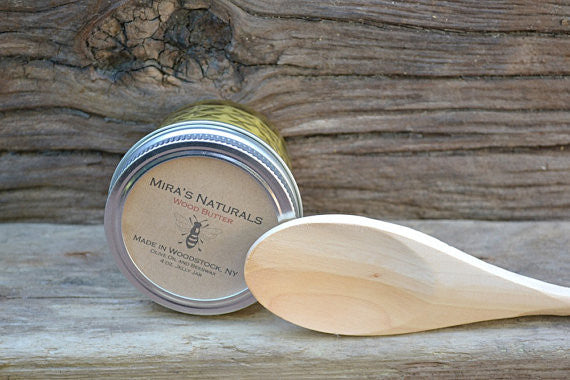 Mira's Naturals Wood Butter - 4 ounces