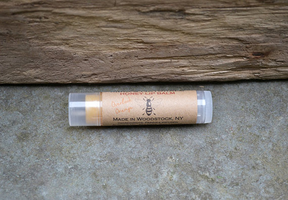 Mira's Naturals Paprika Infused Overlook Orange Honey Lip Balm - .15 ounce tube