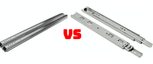 Heavy Duty VS Regular Drawer Slides