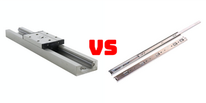 Linear Guides VS Drawer Slides