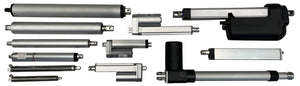 what are the different types of actuators