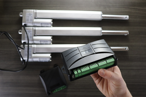 how to sync 2 linear actuators