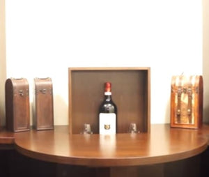 How to Build a Pop Up Drawer in Your Wine Cellar That Provides Hidden Storage