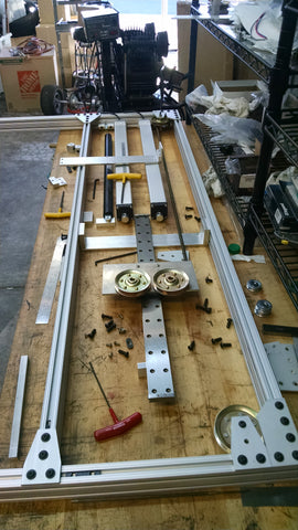 Building the TV Lift