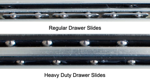 drawer slide Ball Bearing Comparison