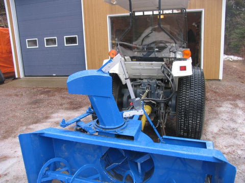 Snow Blower with Linear Actuator