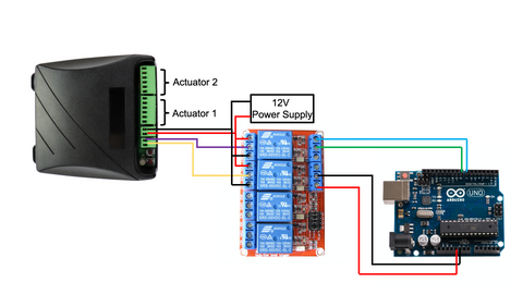 FA-SYNC-2 Connected to an Arduino