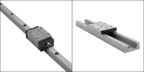 Linear Guide Style Comparison
