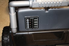control panel for an  RC Power Wheels