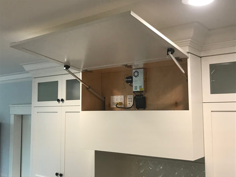 Kitchen TV - Comment construire un meuble TV caché