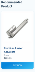 Recommended Product, Premium Linear Actuator
