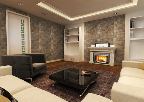 Fireplace Hide-Away TV