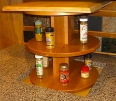 Automated Spice rack