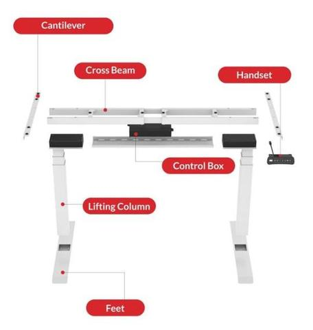 STANDING DESK LIFTS - WORK SITTING OR STANDING