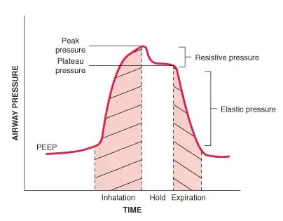 Airway pressure curve