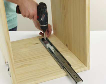 What are the easiest drawer slides to install?