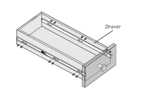 Aligning Drawer Member to Drawer