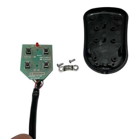 HOW TO GET TO THE BARE WIRES IN THE TV LIFT CONTROLLER step 4