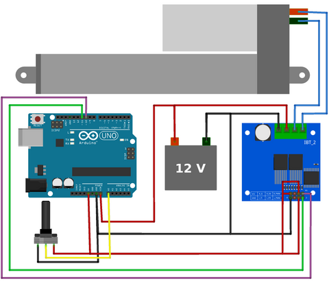 Motor Driver Speed Control with an Arduino