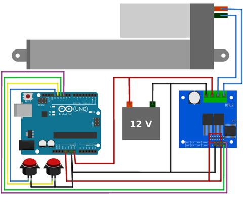 Push Button Control with Arduino