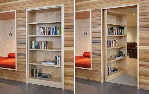 Hidden Rooms and Storage Space