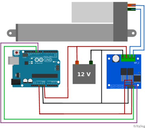Arduino Controlling a Motor Driver