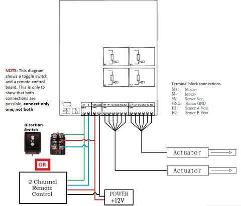 synchronization wiring diagram