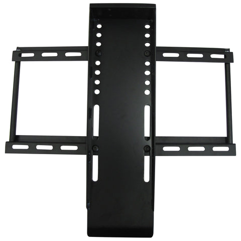 tv bracket attached to mounting bracket