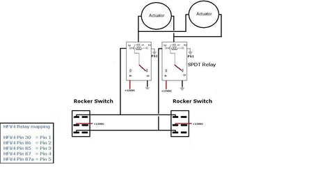 Using a Switch & Remote at the same time with Linear Actuators