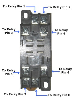 12 volt double pole double throw relay quick connect socket relay for actuator wiriing diagram ccuart Images
