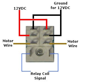 Quick connect socket for DPDT relay