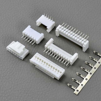 Firgelli Robots 2.0mm JST PH-Style Shrouded Male/Female Connectors- Straight Pin