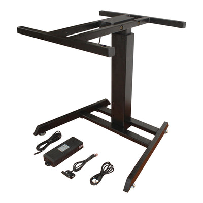 Firgelli Motorized Height adjustable Single Sit Stand desk lift for drafting