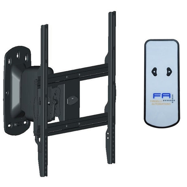 electric swivel mount tv lifts or wall mounting firgelli. Black Bedroom Furniture Sets. Home Design Ideas