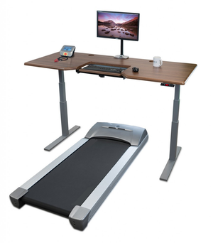 treadmill sit stand desk